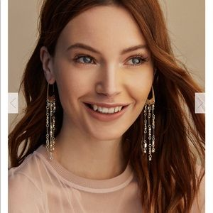Kendra Scott corza rose gold earrings
